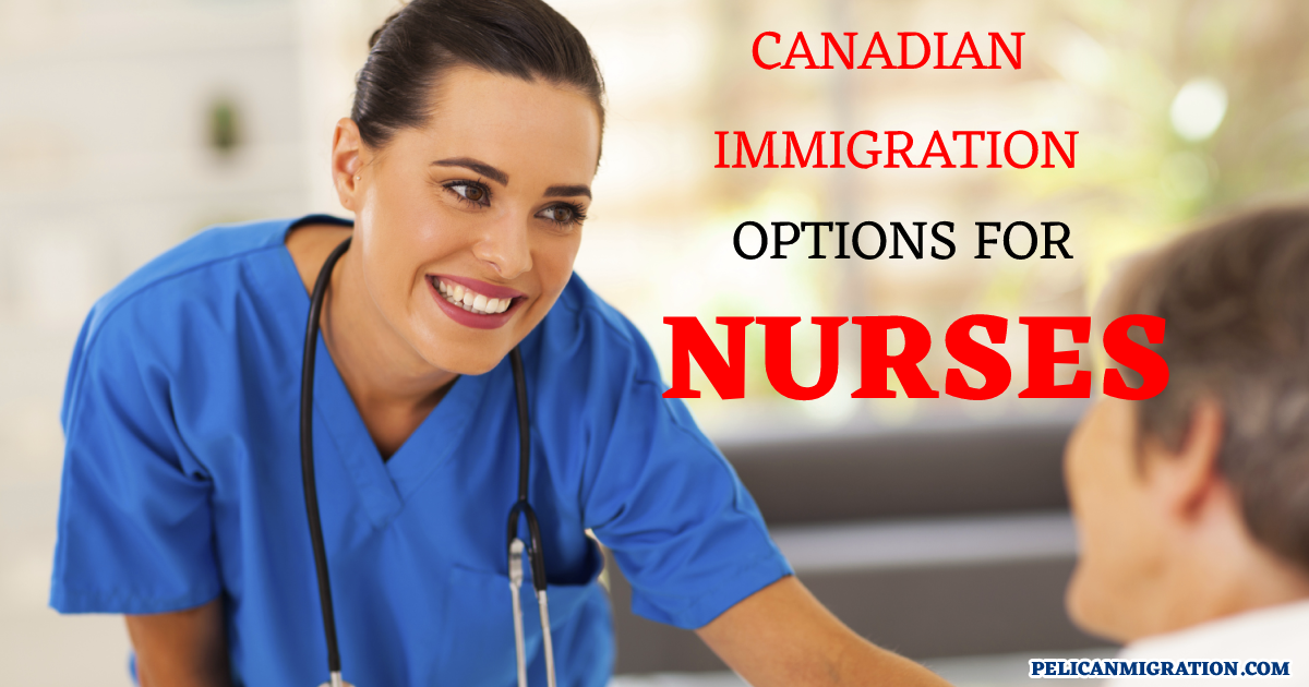migrate to Canada as a nurse