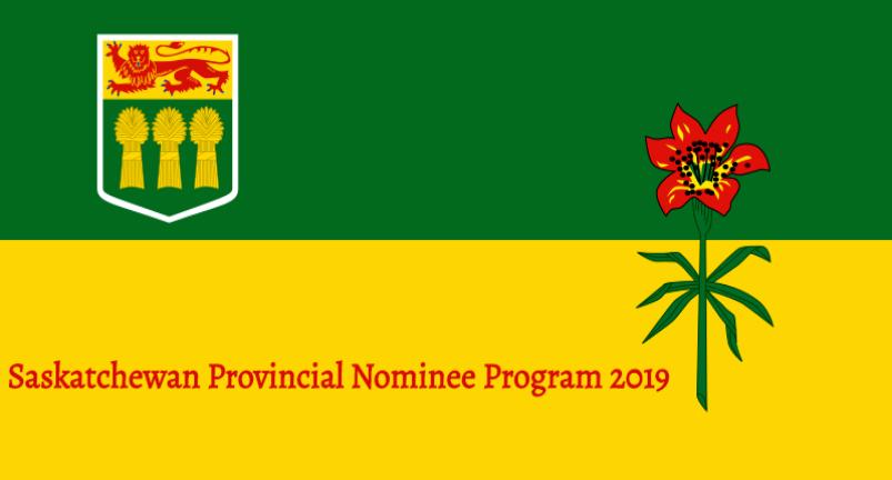 Saskatchewan Provincial Nominee Program (SINP) 2019